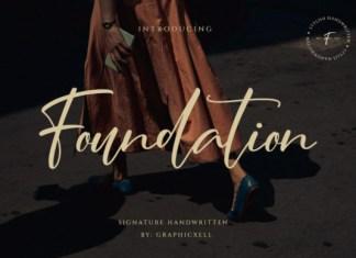 Foundation Font