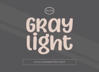 Gray Light Font