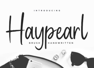 Haypearl Font