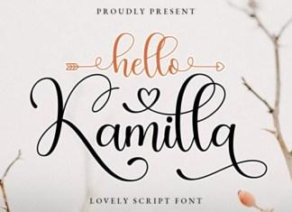 Hello Kamilla Font