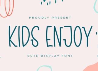 Kids Enjoy Font
