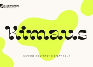 Kimaus Font