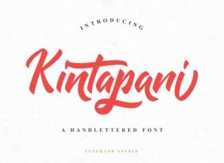 Kintapani Font