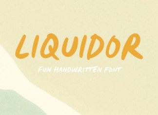 Liquidor Font