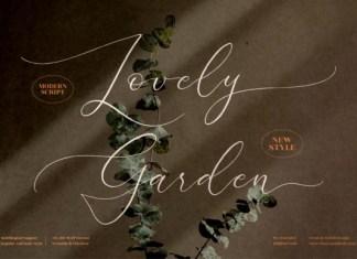 Lovely Garden Font