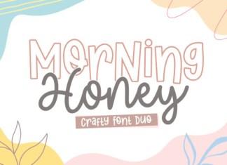 Morning Honey Duo Font