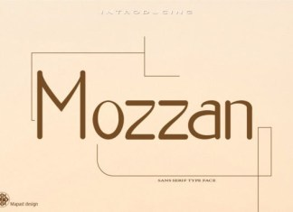 Mozzan Font