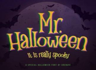 Mr Halloween Font
