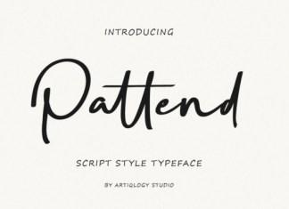 Pattend Font