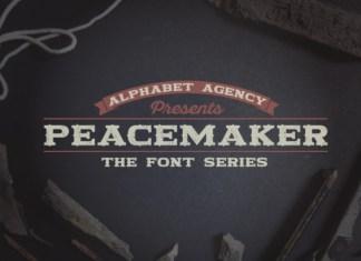 Peacemaker Font