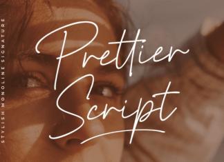 Prettier Script Font