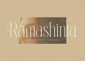 Ramashinta Font