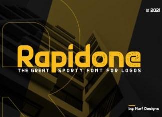 Rapidone Font