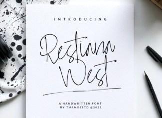 Restiana West Font
