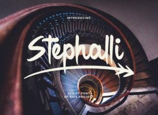 Stephalli Font