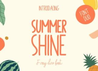 Summer Shine Font