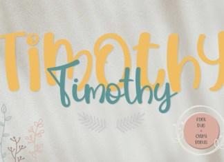 Timothy Font
