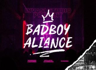 Badboy Aliance Font