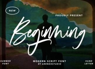 Beginning Font