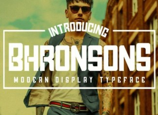 Bhronsons Font