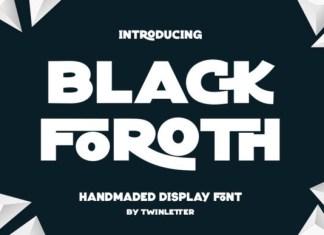 Black Foroth Font