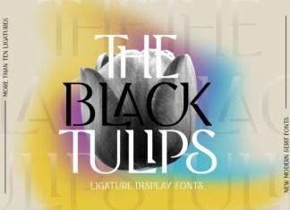 Black Tulip Font