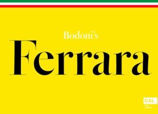 Bodoni Ferrara Font