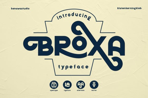 Broxa Font