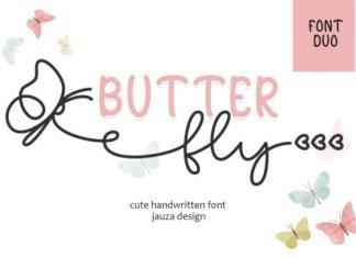 Butter Fly Font