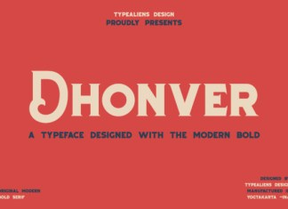 Dhonver Font