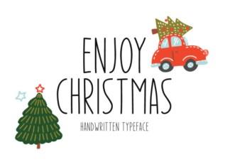 Enjoy Christmas Font