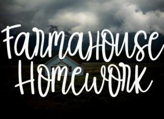 Farmahouse Homework