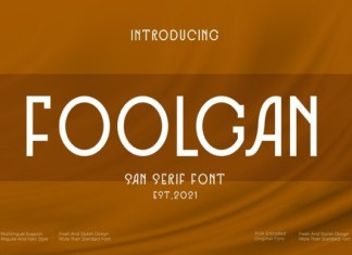 Foolgan Font