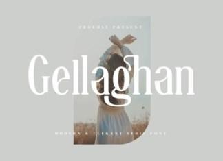 Gellaghan Font
