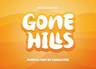 Gone Hills Font