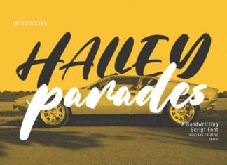 Halley Parades Font