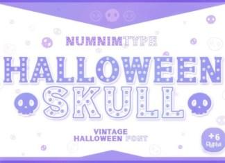 Halloween Skull Font
