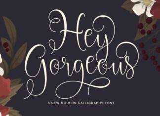 Hey Gorgeous Font