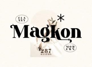 Magkon Font