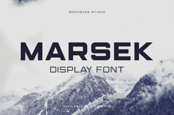 Marsek Font