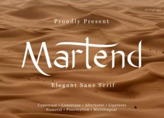 Martend Font