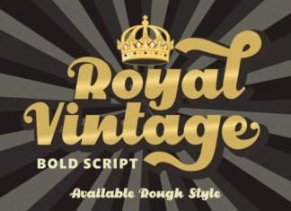 Royal Vintage Font