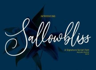 Sallowbliss Font