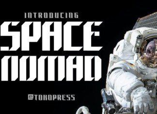 Space Nomad Font