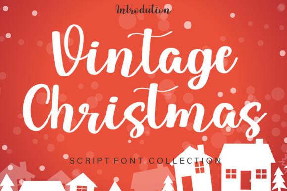 Vintage Christmas Font