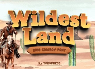 Wildest Land Font