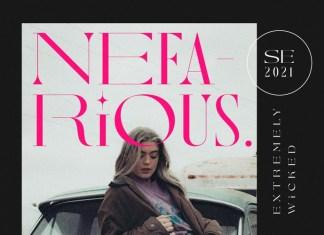 Nefarious Font