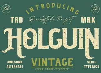 Holguin Font