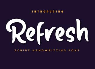 Refresh Font