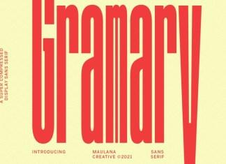 Gramary Font